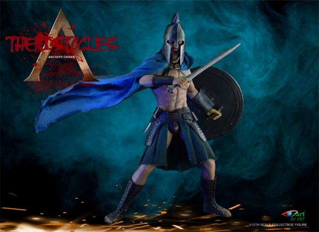 Pre-order 1/12 BY-ART BY-G02 Themistocles Action Figure