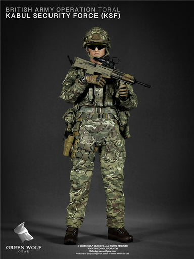 In-stock 1/6 Green Wolf  GWG 009 BRITISH ARMY (OP TORAL) AFGHANISTAN KSF