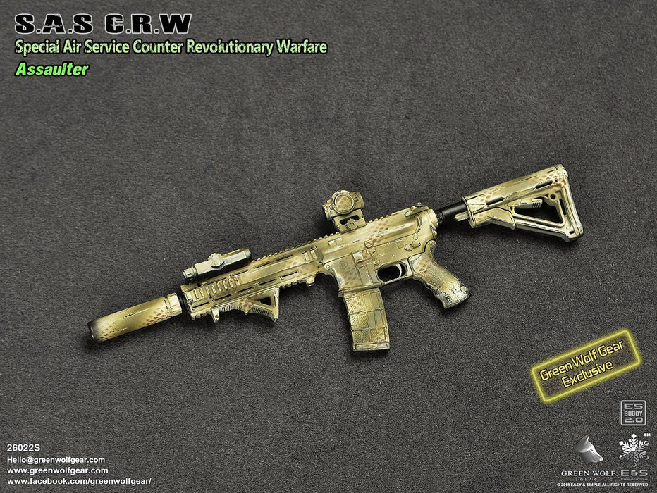 In-stock 1/6 Scale Green Wolf Gear S.A.S C.R.W Assaulter (Exclusive) 26022S