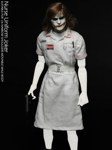 Pre-order 1/6 Scale CGL PE05 Joker Nurse Suit Custom Kit (No Body)
