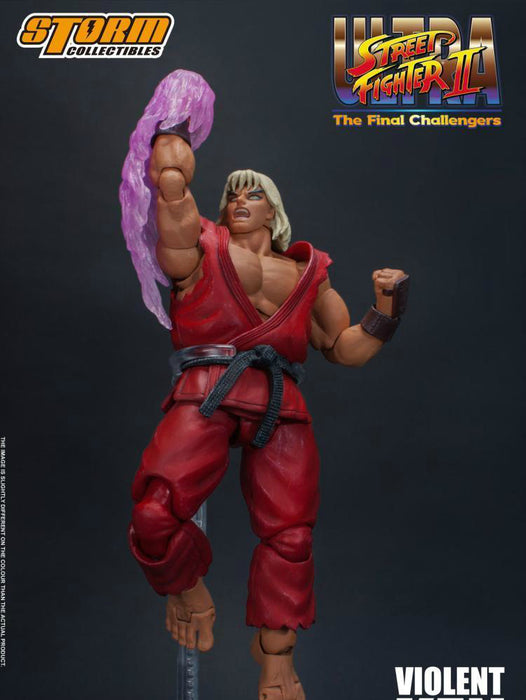 Pre-order 1/12 Storm Toys Ultra Street Fighter II:  Violent Ken  Action Figure