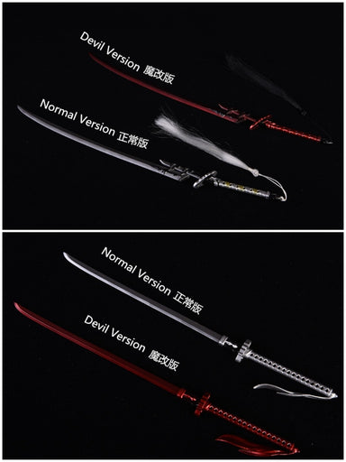 In-stock 1/6 Scale JOA-006 Japanese Samurai Katana (17.5cm) Model