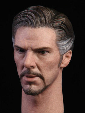 In- Stock 1/6 NRTOYS NR013 B Male Head Doctor Strange HW/Neck With Hands