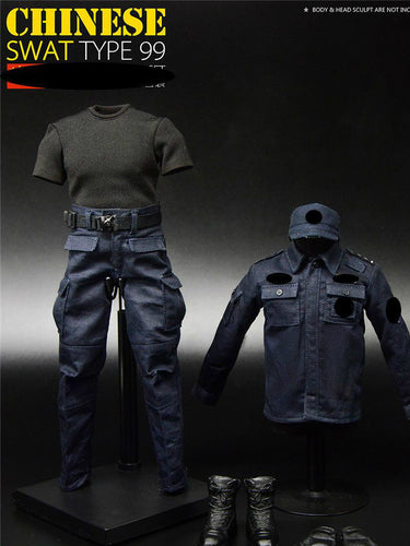 TOYSCITY 1/6 Scale 68013 SWAT 99 Clothes Set