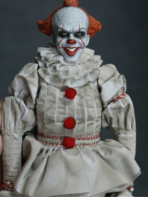 In-Stock 1/6 Scale ACME TOYS Clown IT Pennywise Evil Joker 12in Action Figure