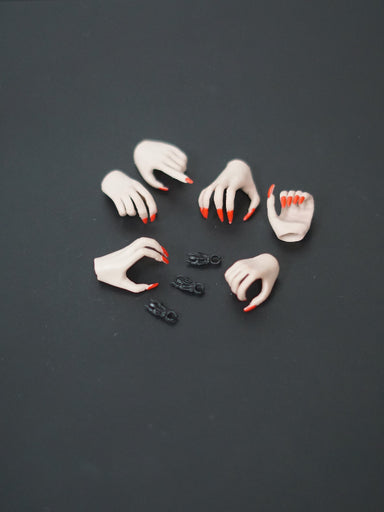 In-stock 1/6 YMTOYS YMT012 Clawed Hands Accessories #Suntan