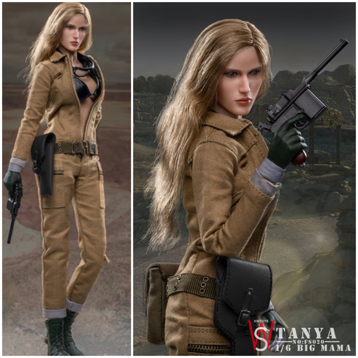 In-stock FS020 SW Ourworld EVA 1/6 Tanya Big Mama Pre-order Not Hot Toys