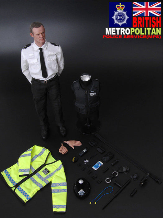 Modelingtoys British Police boots 1//6th scale toy accessory