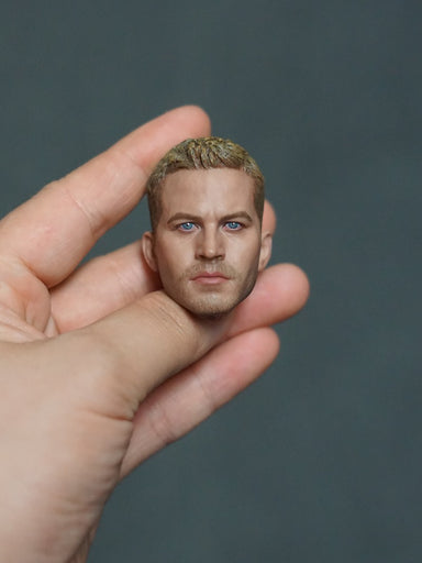 In-stock 1/6 Scale GACTOYS GC028 Paul Walker Head Sculpt HW/O Neck JP#4