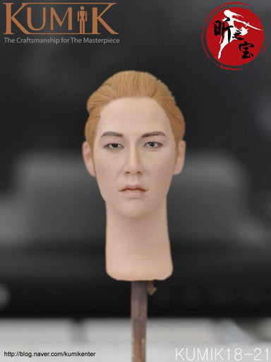 1/6 Scale Kumik Head Sculpt KM18-14 18-18 18-21
