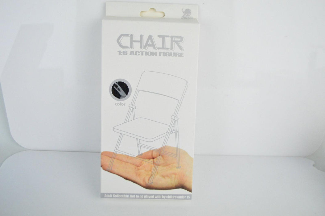 1/6 Stand Support Display PVC Folding Chair