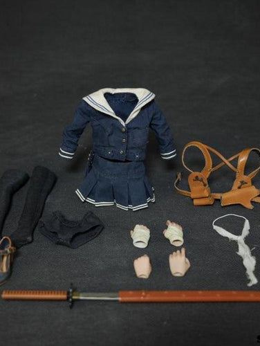 So-toys SO-T02 1/6 D.E.B.S. Baby Doll Costume & Sword Set For 12
