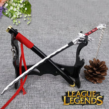 "1/6 Scale Metal Yasuo the Unforgive  For 12"" LOL Action Figure League of Legends"