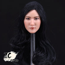In Stock 1/6 Scale ZC Toys Elegant Asian Sexy Girl 01 Head Sculpt pale#