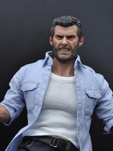 Burning Soul 1/6 scale Rage Wolverine figure Full Set Logan Angry Rictor