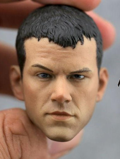 In-Stock Custom Matt Damon 1/6 Scale Head Sculpt