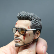 1/6 Scale Glasses Sunglasses Shades of Tony Stark Iron Man Armor Testing Version