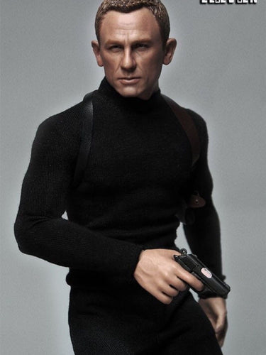 ELEVEN 1/6 action figure toys 007 agents Daniel Craig James Bond suit