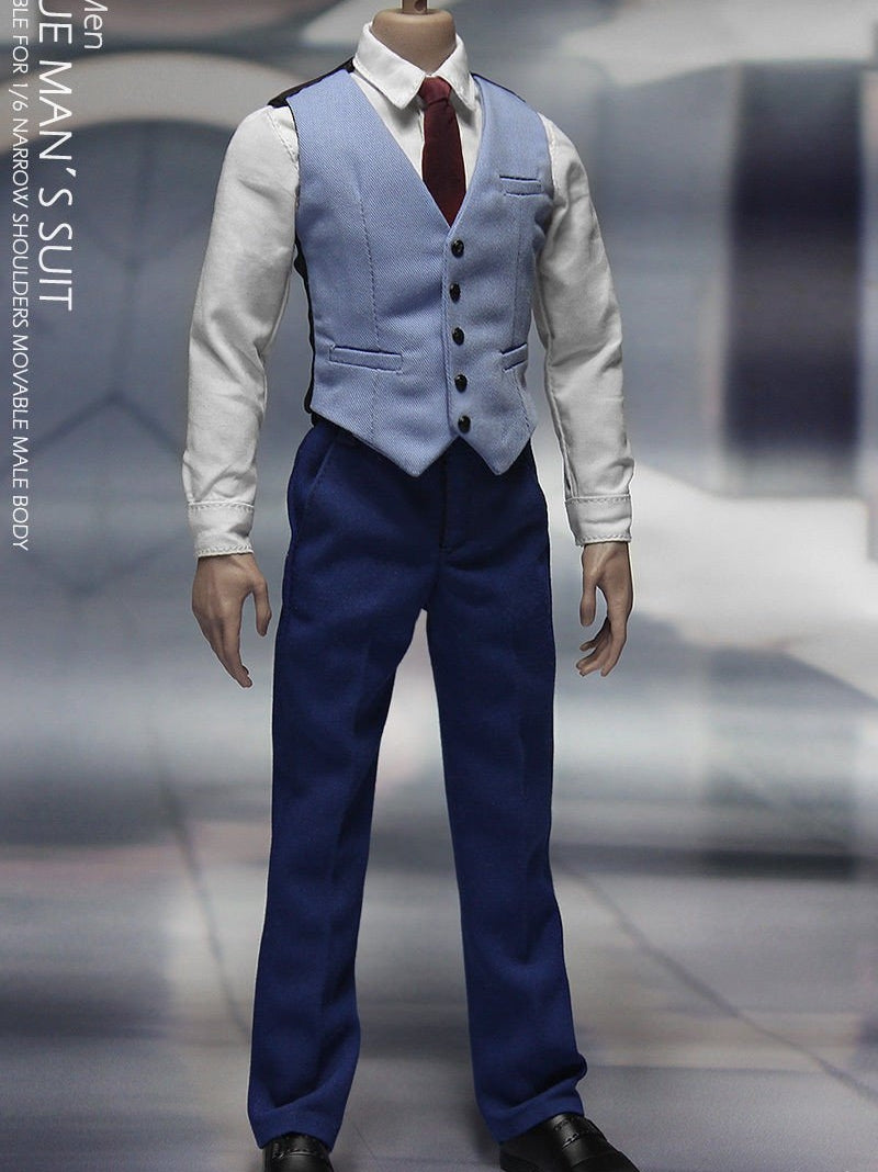 CGLTOYS PE04 1/6 X-Men Professor blue suits Younger Professor