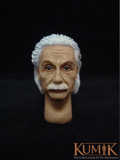 1/6 Scale KUMIK Headplay Albert  Einstein Head Sculpt KM012