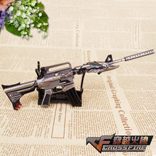 "1/6 Scale Metal M4A1 weapon 2 For 12"" LOL Action Figure Overwatch Cross Fire"
