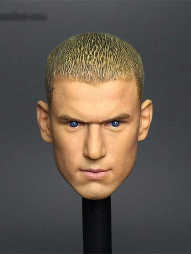 1/6 Wentworth Miller Head sculpt Prison Break Michael Scofield for 12'' action figure