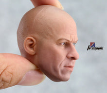 1/6 Scale onesixth VIN DIESEL HEAD SCULPT FAST AND THE FURIOUS DOM