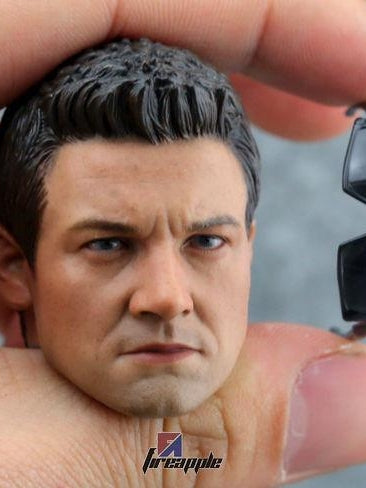 1/6 Scale Custom Jeremy Renner 2.0  Head Sculpt Avengers: Age of Ultron