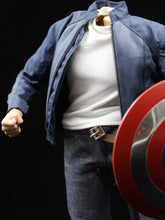 Custom 1/6 Captain America Clothes Set Costume The avengers