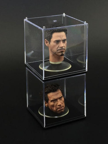 1/6 Set Display Box for 1/6 head Sculpt Display Case Toy