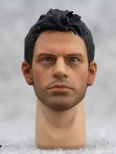 Custom 1/6 Scale Chris Redfield Head Sculpt Resident Evil for 12'' action figure
