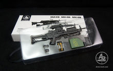 Arms-rack 1/6 Scale MK46 Rilfe Gun Weapon Box Set 1/6 Black Version Toy's toys