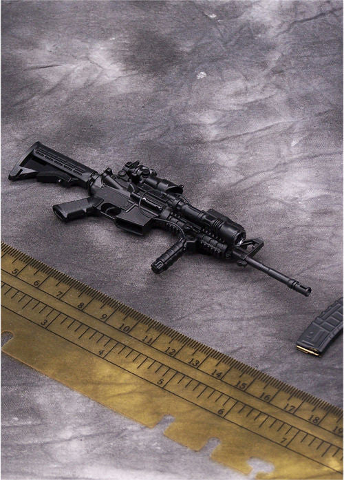 In-Stock Arms-rack 1/6 Scale Rilfe Gun M4A1 Weapon Box Set Black Version