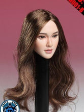 In-stock 1/6 Scale SUPER DUCK SDH003B Angelababy Girl Head Sculpt