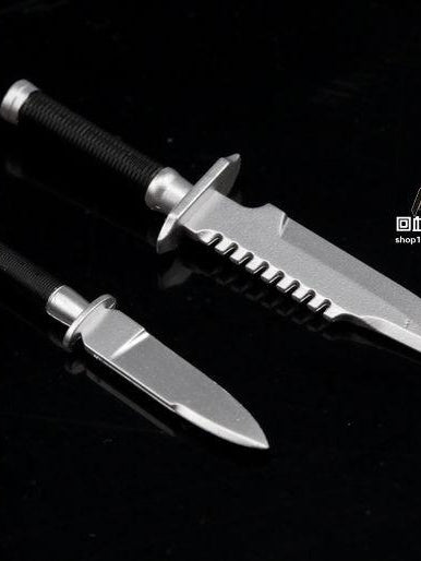 1/6 Scale 2 PCS Knives from Hot Toys MMS276 Commando John Matrix Figure