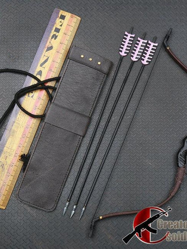 1/6 Scale Custom Bow & Arrow Hawk eye Set For 12