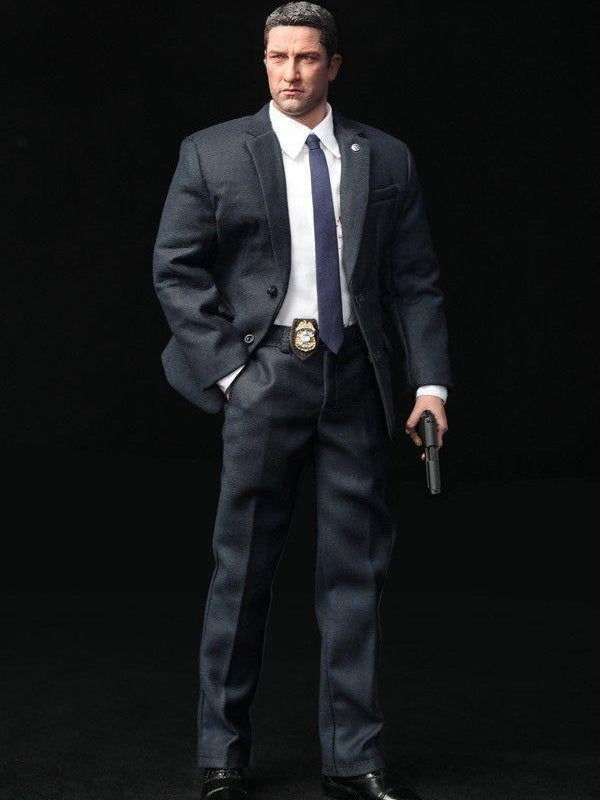 1/6 Scale US Secret Service Special Agent Gerard Butler (Olympus Has Fallen) DID