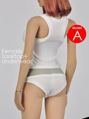 Magic Cube Toys Sexy Female Tanktop + Underwear 1/6 MC F-059