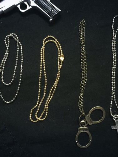 3 PCS 1//6 Big Golden Leopard Necklace For HOT TOYS PH Fashion clothes