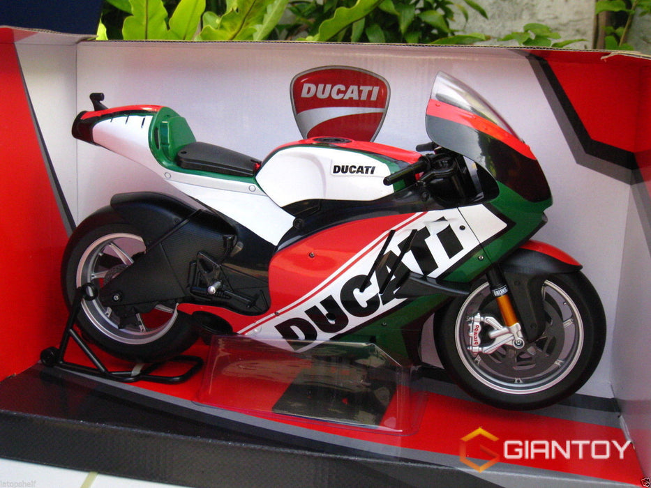 In-Stock 1/6 Scale Car Ducati Italy Design Motorcycle For 12in Action Figure