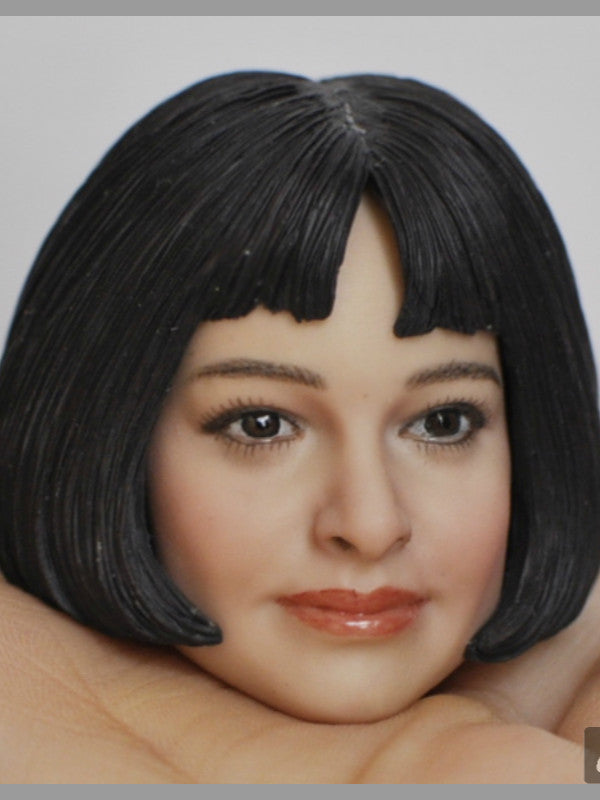 In-Stock KUMIK 1/6 Head Sculpt Mathilda LEON 18-48 Mathilda