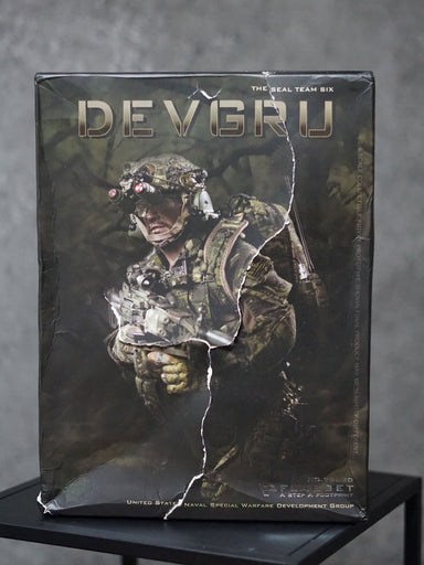 In-stock FLAGSET 1/6 US seals 6 team DEVGRU jungle dagger  #73020 [Damaged Box]