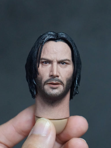 In-stock 1/6 SOOSOOTOYS SSH-002 John Head Sculpt HW/Neck