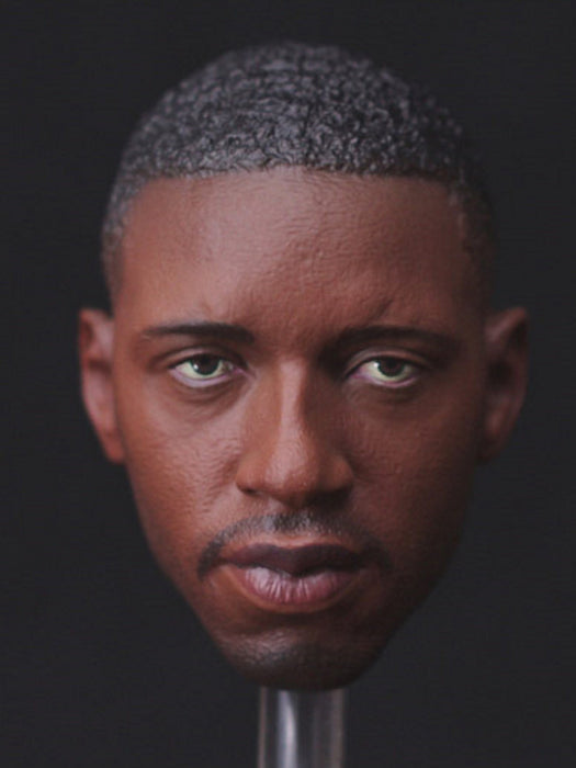 Tracy McGrady 1/6 Head Sculpt for Enterbay NBA T-Mac Jordan Body