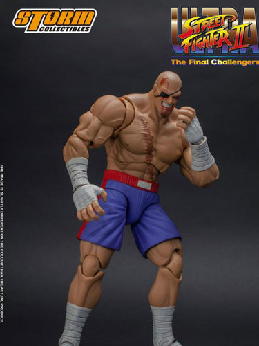 Pre-order 1/12 Storm Toys SAGAT Street Fighter II: Violent 6in Action Figure