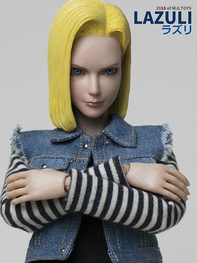 In-Stock WjlToys TY-007 1/6 Dragonball Android 18 LAZULI
