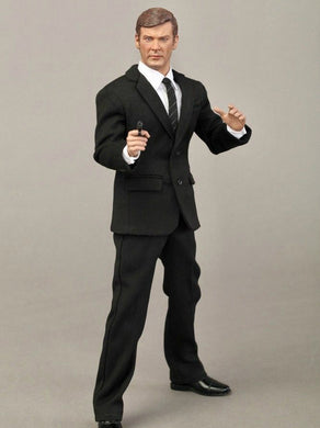 In-stock 1/6 Scale DID RM001 Roger Moore British Actor Action Figure