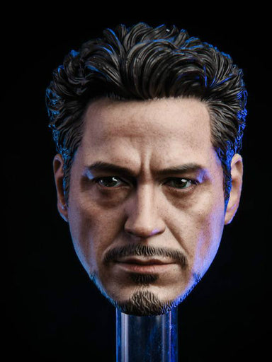 In-stock 1/6 Scale NRtoys NR07 MK5 2.0 Tony Stark Iron Man Head For Hot Toy Phicen