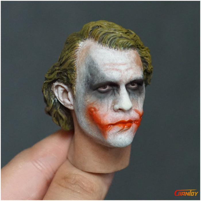 Bad Tomato BT002 1//6 Scale Mister J Joker A Head Sculpt For Hot Toys 12in Body