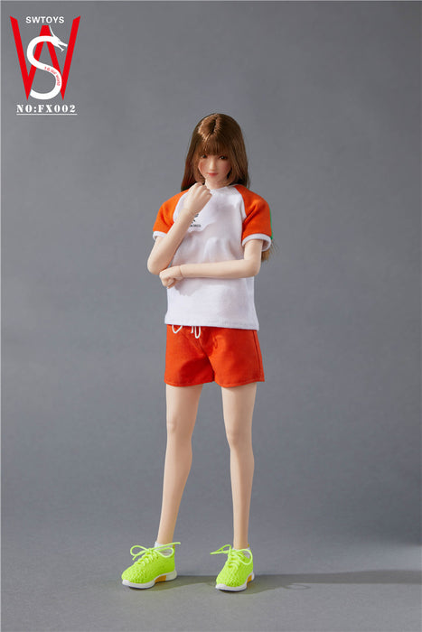 Pre-order 1/6 SWTOYS FX002 Female Sports Clothes Set